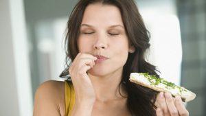 Saborear comida ley de atraccion